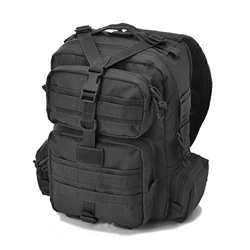 7dc072a427d Tactical Sling Bag Pack Military Rover Shoulder Sling Backpack Molle  Assault Range Bag Everyday Carry Bag