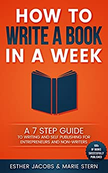 how to write a book in 2 weeks