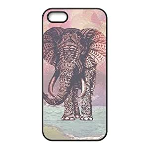 Elephant Brand New Cover Case for Iphone 5,5S,diy case cover ygtg525258