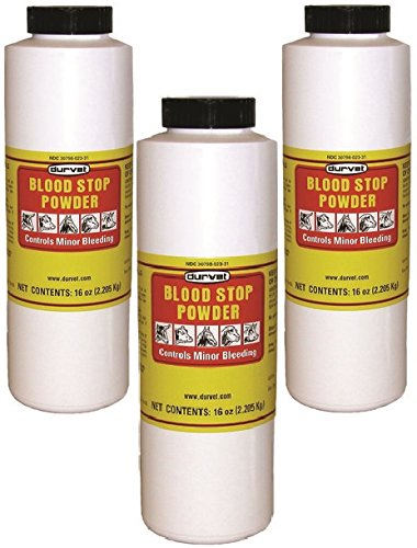 Durvet Blood Stop Powder 16oz (3 Pack)