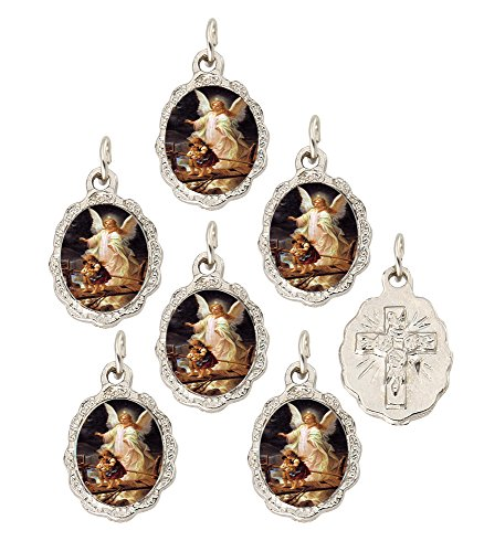 ardian Angel Medal Pendant, 0.5