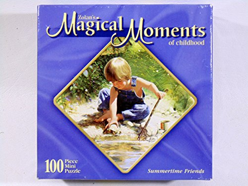 Zolan's Magical Momnets of Childhood Summertime Friends 100 Piece Mini Puzzle