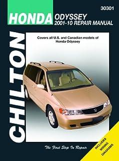 Honda odyssey 1999 2010 repair manual haynes repair manual haynes chilton 30301 honda odyssey 2001 2010 fandeluxe Gallery