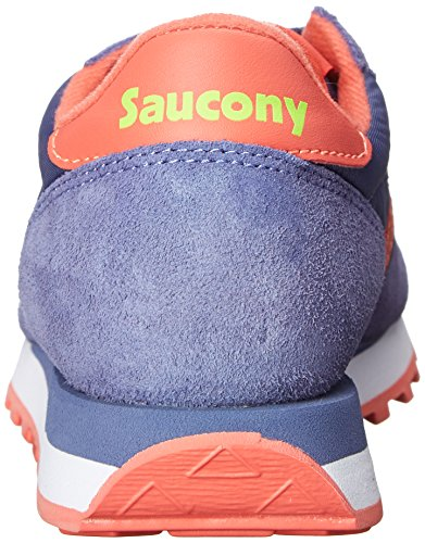 Light Donna Scarpe Basse SauconySaucony da Purple Ginnastica Coral Purple Jazz Original anq84