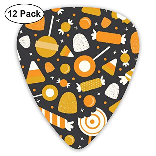 Kawaii Halloween Candy Suitable for Electric Guitars, Acoustic Guitars, Guitar Selection 12 Pieces. ()
