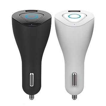 Zyx Auriculares Inalámbricos De Bluetooth con El Auricular Sin Manos del Auricular USB del Coche del