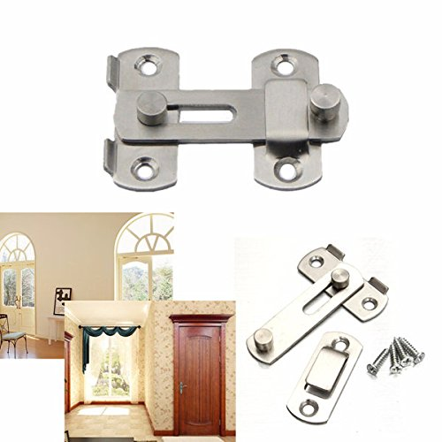Hasps Barrel Bolts - Doradus Stainless Steel Window Door Gate Safety Sliding Barrel Bolt Latch Lock Hasp
