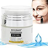 #6: Eye Gel for Dark Circles, Puffiness, Wrinkles and Bags - Instant Firming & Anti Aging Eye Cream - 100% Natural With Hyaluronic Acid, Jojoba Oil, MSM, Peptides & More, for Under and Around Eyes - 15ml