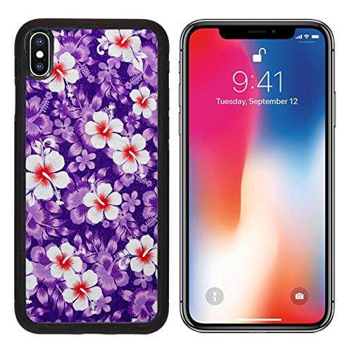 MSD Premium Apple iPhone X Aluminum Backplate Bumper Snap Case IMAGE ID 29243095 Seamless flower pattern designs on the fabric (Drapery Fabrics Contemporary)