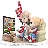 Precious Moments Every Day Is A Touchdown With You Ohio State Buckeyes Figurine by The Hamilton Collection
