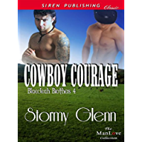 Cowboy Courage [Blaecleah Brothers 4] (Siren Publishing Classic ManLove) (English Edition)