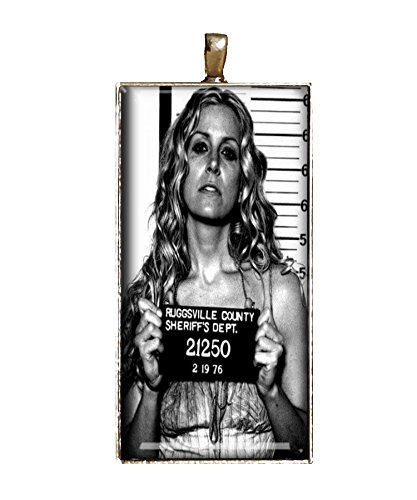 Chaoticfashion Devils Rejects Necklace Baby's Mugshot Handmade Rob Zombie Jewelry Gift Pendant
