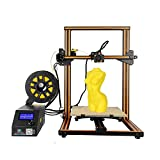 Creality3D CR - 10S 3D Desktop DIY Printer Updated Dual Z Axis Large Printing Size 300 x 300 x 400mm 1.75mm 0.4mm Nozzle (Yellow)
