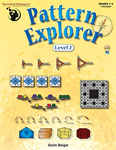 Pattern Explorer Level 2 (Grades 7-9) - Pattern Problems to Develop Mathematical Reasoning