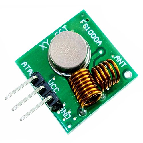 TOOGOO(R) 2SET 433Mhz RF Transmitter and Receiver Module link kit for Arduino