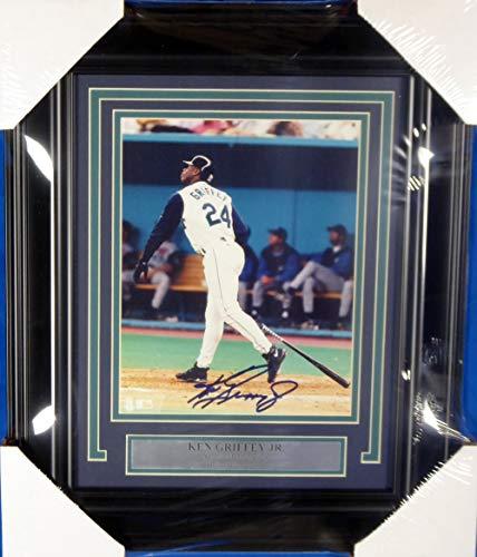Ken Griffey Jr. Autographed Framed 8x10 Photo Seattle Mariners Beckett BAS #A19589