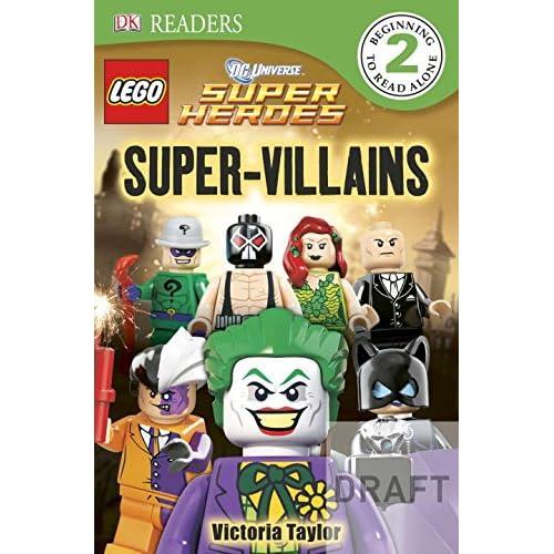 DK Readers L2: LEGO DC Super Heroes: Super-Villains (Paperback)