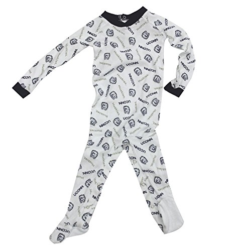 Outerstuff Uconn Huskies Baby Clothing, University Footie Pajamas Apparel,12M