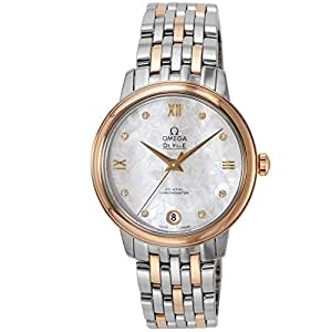 Omega De Ville Prestige Butterfly Automatic Ladies Watch 42420332055001