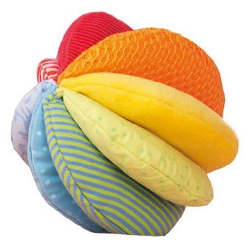 Haba Fabric Ball (HABA Rainbow Fabric Ball - Machine Washable with 8 Different Sensory Affects)