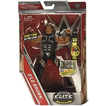 WWE Elite Collection Series 52 D'Lo Brown Action Figure