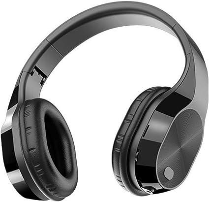 Foldable Bluetooth Mic Headphones Stereo Super Bass Headsets