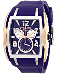 MULCO Unisex MW1-13187-053 Analog Display Swiss Quartz Blue Watch