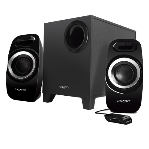 Creative Inspire T3300 51MF0415AA002 25 Watt 2.1 Speaker System by Creative