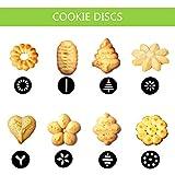 Shule Cookie Press Dough Gun Kit for Stainless