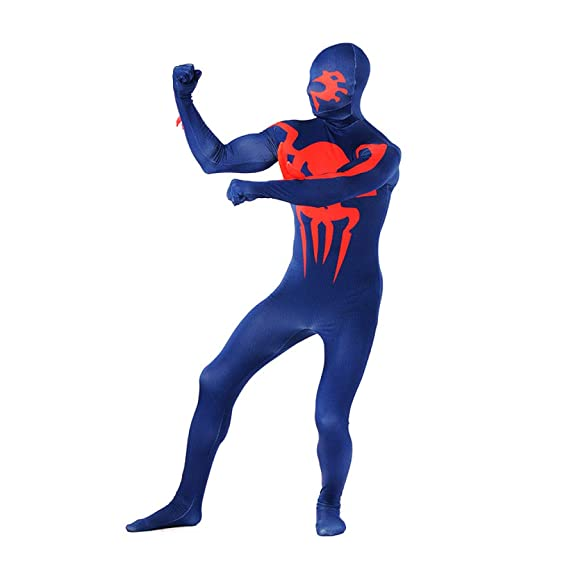 Amazon.com: Lycra Spandex Devil Spiderman Costume Cosplay ...