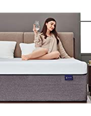 Ssecretland Gel Memory Foam Mattress with CertiPUR-US Certified Foam Mattress Firm Bed Mattress in a Box or Sleep Cooler & Pressure Relief