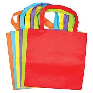 Baker Ross Bolsas de Tela de Colores para Decorar (Paquete ...