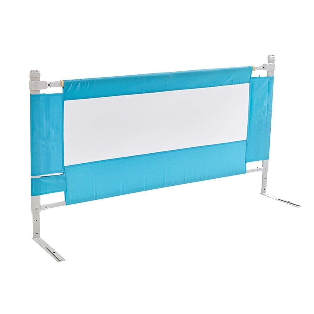 王様 ガードレール 子供の遊びのフェンス折りたたみ赤ちゃんクロール幼児ガードレール赤ちゃん-150 cm、180 cm、200 cm (Color : Blue, Size : L-180cm) L-180cm Blue B07TV72DJF