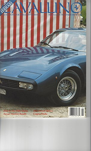 Cavallino: the magazine for the Ferrari enthusiasts No.46, Aug/Sept 1988 - Cavallino Magazine