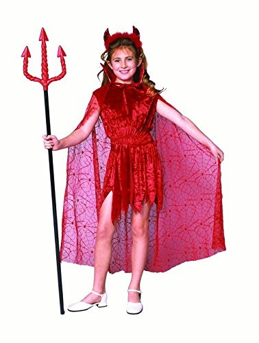 Devil Costumes Cute Kids (Glamour Devil With Cape)