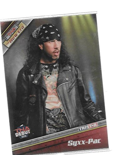 Syxx-Pac 2010 Tristar TNA The New Era Wrestling Debut Trading Card # 11 - Sean Waltman - Stored in a Protective Plastic Display Case!! -