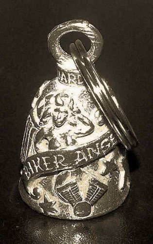 PLAIN GUARDIAN BELL WITH CUSTOM GIFT BOX HARLEY BIKER BELL RIDE TO LIVE