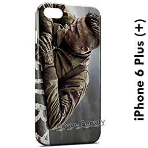 Carcasa Funda iPhone 6 Plus (iPhone 6+) Fury Brad Pitt Protectora Case Cover