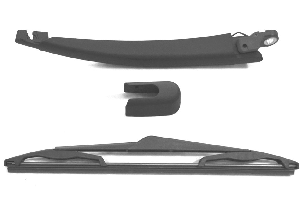 Sourcingmap X Autohaux 300mm 12 Limpiaparabrisas Escobilla para Ventana Trasera