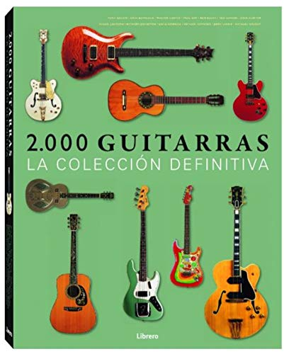2000 Guitarras (Spanish) Hardcover – 2014