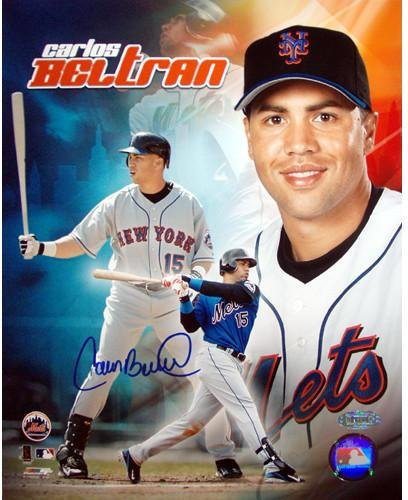 Carlos Beltran New York Mets Collage 8x10 Mlb Auth At