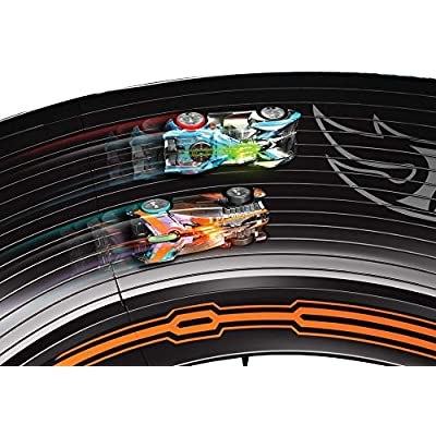Hot Wheels Augmoto Augmented Reality Racing Track Set: Toys & Games