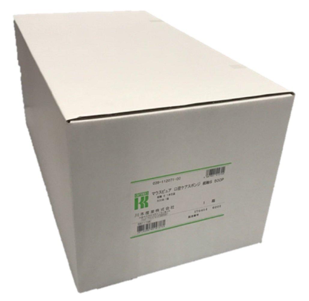 マウスピュア 口腔ケアスポンジ 紙軸 Sサイズ 500本 B071LFHDBX