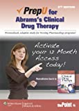 PrepU for Abrams's Clinical Drug Therapy, Abrams, Anne C., 1451163509