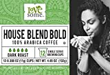 LoveSome House Blend K-Cup, 12 Count (Pack of 6)