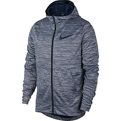 Basketball Hooded (Nike M NK Spotlight Hoodie FZ Men's Full-Zip Basketball Hoodie (XX-Large, Blue/Black))