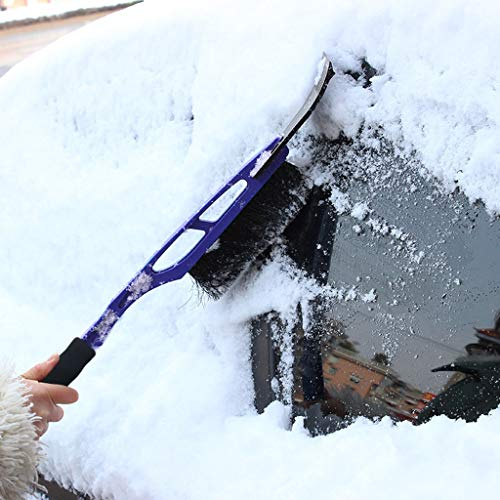Hunputa Car Vehicle Durable Snow Brush for Car Ice Scraper with Soft Foam Grip Snow Broom Brush Head Extendable T-Shape Snow Brush for Winter Auto Truck SUV  by Hunputa-UH (Image #3)