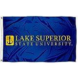 Lake Superior State Lakers Wordmark Flag
