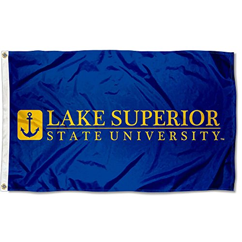 Lake Superior State Lakers Wordmark Flag by College Flags and Banners Co.