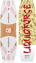 A wakeboard has never felt as similar to a snowboard as the Noodle. Presses on rails and slashes on the water have never been so easy and fun! - Felix GeorgiiAsymmetric Sidecut PlanshapeLF Exclusive FlexTrackFlex Zone TipsFull Wood Profiled C...